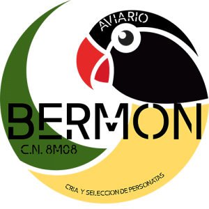 Logotipo aviario bermon
